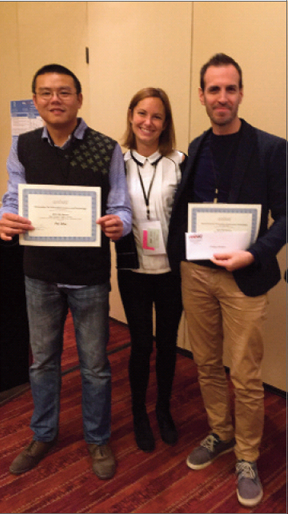 Gagnants concours ''Best student paper''
