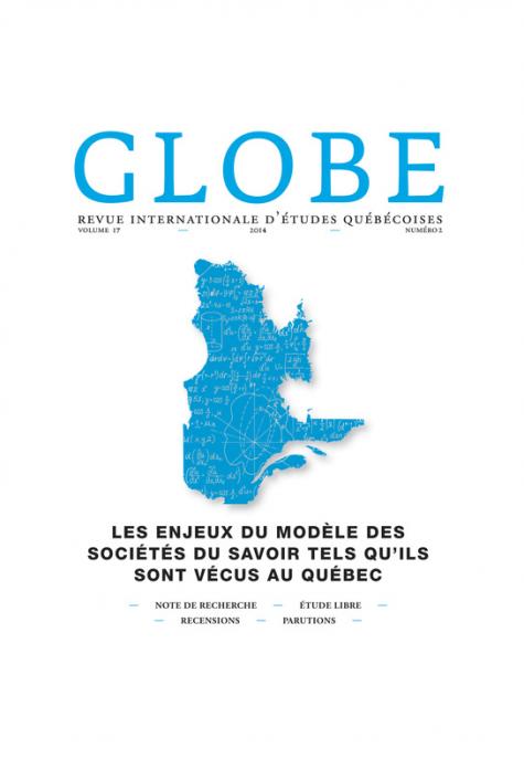 Globe - Revue internationale d'études québécoises