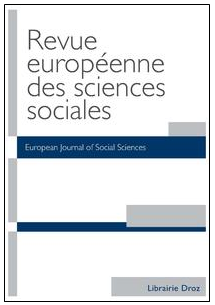 Revue européennes de sciences sociales