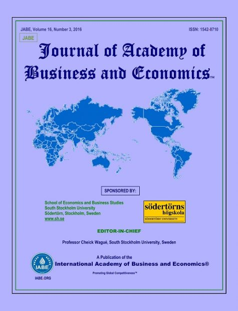 Journal of Academy of Business and Economics